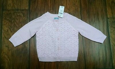 Baby Gap Pink Cardigan Sweater 3 6 Months New