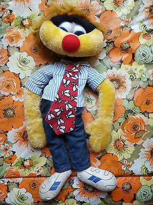 1988 AGRO PUPPET TOY cartoon connection TV Character 1990s 1980s channel 7
