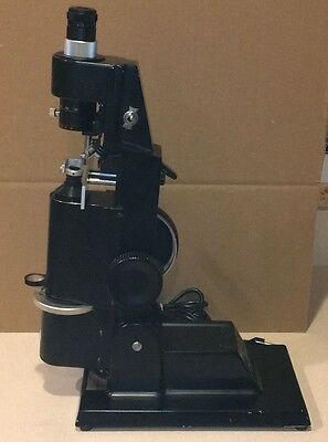 Marco Ophthalmic LM-101 Lensmeter with Prism Compensator Auxiliary Lensometer