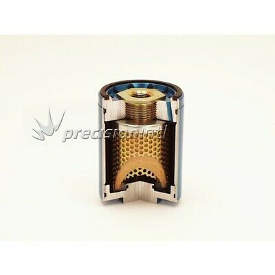 """Canton Racing Products 25-282 BILLET OIL FILTER HOUSING 4 1/4"""" TALL 20MM THREAD"""