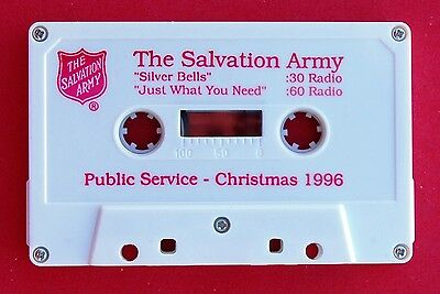 New 1996 Salvation Army Christmas Cassette Psa Tape
