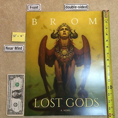 "BROM Lost Gods 12"" x 16"" Poster 2016 NYCC"