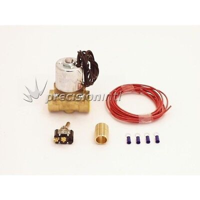 """Canton Racing Products 24-270 ACCUSUMP ELECTRIC  VALVE KIT FEMALE 1/2"""" NPT & 1/2"""