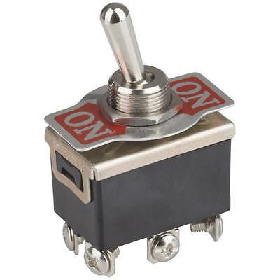 DPDT 6A 250VAC Extra Heavy Duty Toggle Switch ST0575