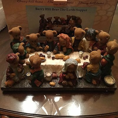 2001 Berry Hill Bears Famous Bible Stories  The Lord's Supper 20311