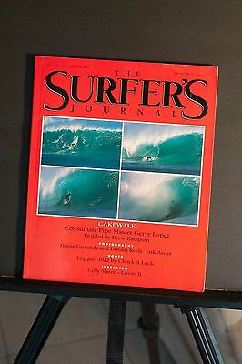 Surfers Journal Vol 1 number 2 Gery Lopez by Drew Kampion Kelly interview Aeder
