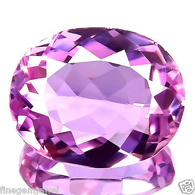 7.59ct WOW IF CLEAN FLAWLESS RARE NATURAL BEST PINK KUNZITE AWESOME REAL GEMSTON