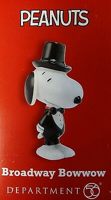 New Snoopy By Design limited Broadway Bowwow Peanuts Depot 56 # 4044967