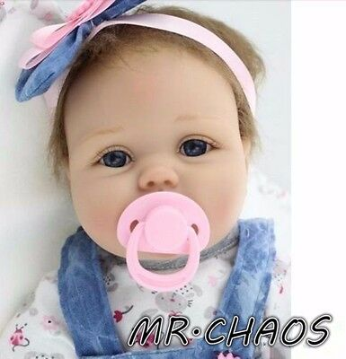 Handmade Real Looking Reborn Baby Dolls Vinyl Silicone Realistic Newborn Baby