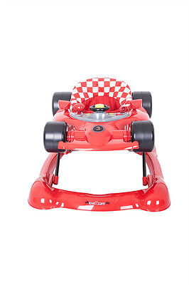 Formula Baby Walker/Rocker - Red
