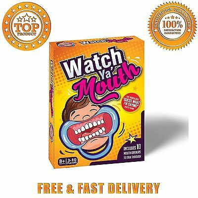 Watch Ya Mouth Family Edition The Authentic Hilarious Mouthguard Party Game