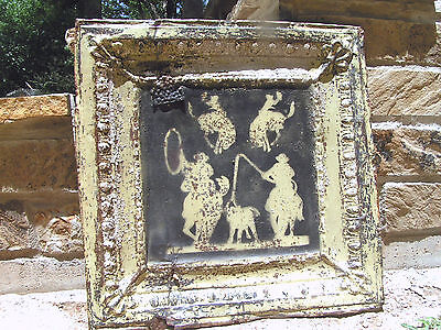 Antique Ceiling Tin Western Wall Art Tile TT