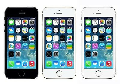 Apple iPhone 5s 16GB 32GB 64GB Factory Unlocked Smartphone Gold Grey & Silver