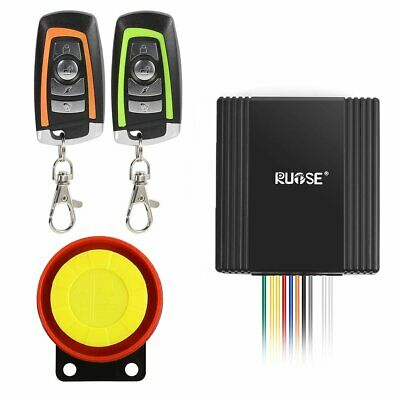 Motorcycle Security Alarm System Anti-Hijacking Cutting Off  Remote Control Kit