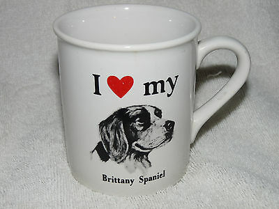 BRITTANY SPANIEL Dog Coffee Tea Cup Mug FREE SHIPPING