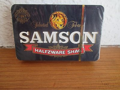 Vintage SAMSON SHAG TOBACCO Sealed Deck of Playing Cards -  Made in Belgium