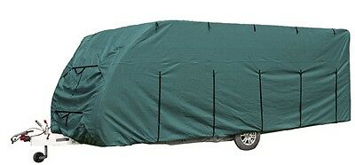 Caravan Cover Deluxe 23 - 25ft - Green 923011 Royal New