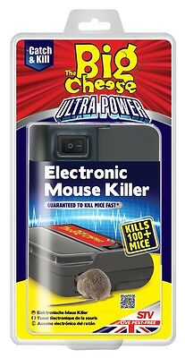 Ultra Power Electronic Mouse Killer STV722 The Big Cheese New