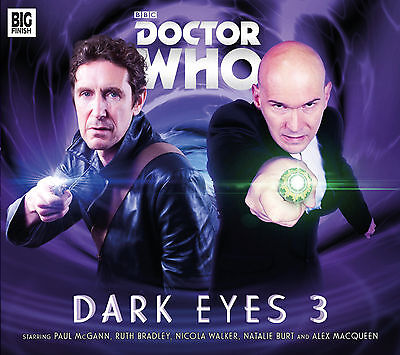 Doctor Who Dark Eyes 3 box set. 2014 Big Finish audio book CD.