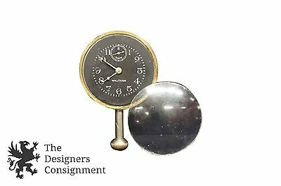 Waltham Watch Co 8-Day Packard Dash Clock Watch 1920s Jewel Auto Antique Lincoln