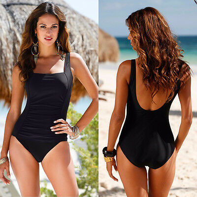 Women One Piece Push Up Padded Bikini Swimsuit Swimwear Bathing Suit Monokini