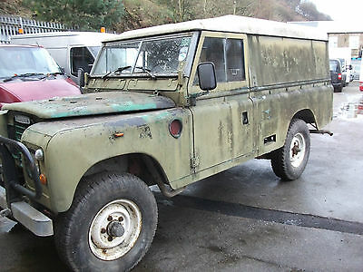 "Land Rover 109"" - 6 Cyl Green"