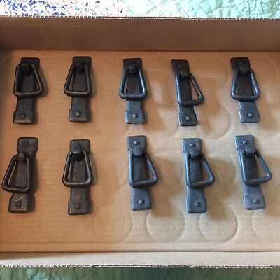 20 Dollars Takes It.  Kbc Mission Style Door Pulls 10 In Lot Free Shipping