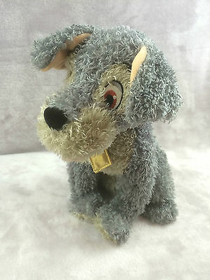"""Disney Store Exclusive Lady & The Tramp Tramp Soft Toy 12"""""""
