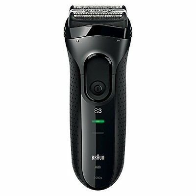 Braun Series 3 3000 Men''s Electric Foil Shaver, Rechargeable and Cordless Razor