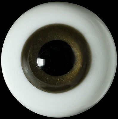 New Round 16mm DarkBrown Glass BJD Eyes for Reborn Ball Joint 1/4 BJD Doll