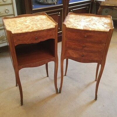 French Bedside Tables       a13685
