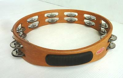 """Musical Instrument - """"Stagg"""" Wooden 10"""" Headless Tambourine TAW-102 - V.G.C."""