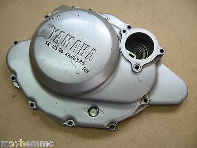 Yamaha Sr125 Engine Right Hand Casing Clutch Cover  *fast Postage*