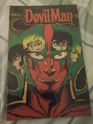 Devil Man Manga comic