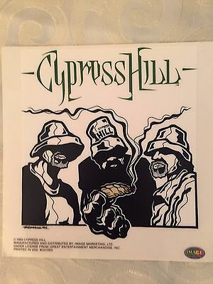Vintage Cypress Hill Decal