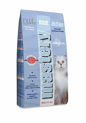 Croquettes Mastery pour chats Adulte Skin N Coat Sac 3 kg