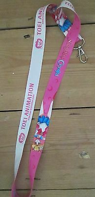 Toei Animation Sailor Moon lanyard, promotional item pink, new