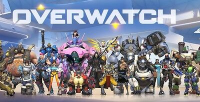 Overwatch Heroes New Shooting Game Art Silk Poster 24x36inch