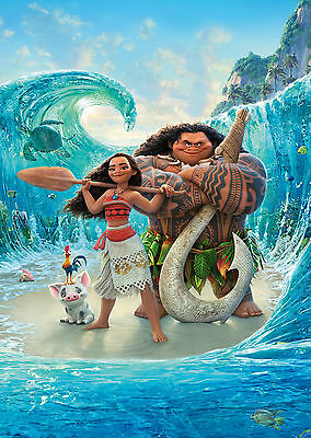 Moana (2016) - A1/A2 POSTER **BUY ANY 2 AND GET 1 FREE OFFER**
