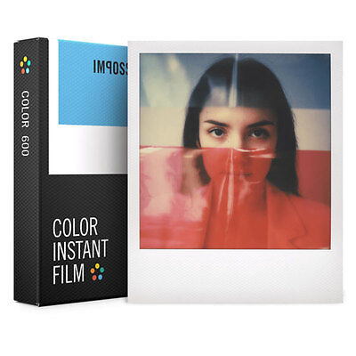 Impossible Project, Polaroid, 600 Color Film Pack (8 Shots) NEW