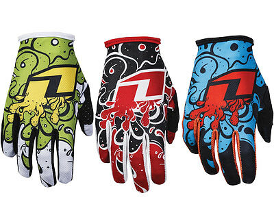 KIDS YOUTH ONE INDUSTRIES ZERO SLIME MOTOCROSS MX GLOVES NEW gants quad bike bmx