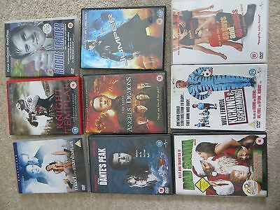 Bundle of 9 DVDs (thrillers & comedy)