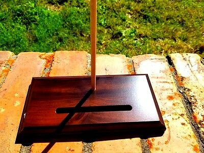 Plate Tray Wood Display Stand, Plate Tray Holder