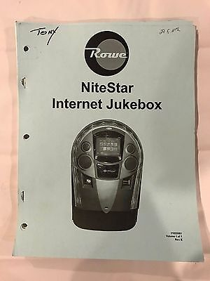 Rowe NiteStar Internet Jukebox Manual