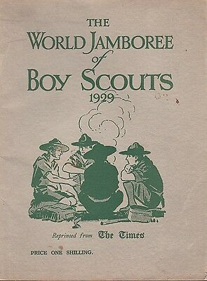 The World Jamboree of Boy Scouts 1929 Book Held in United Kingdom Illustrated
