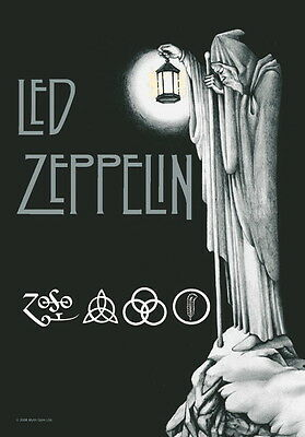 """Led Zeppelin Flagge / Fahne """"stairway To Heaven"""" Poster Flag Posterflagge"""