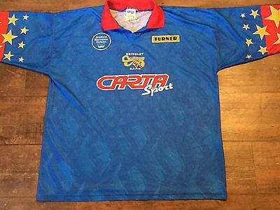 1990's Keighley Cougars Rugby League Shirt Adults XL Top Jersey