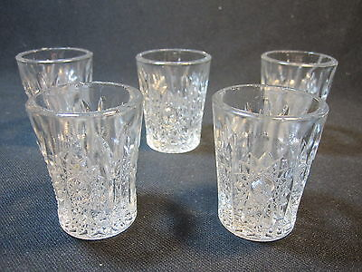 Indiana #300 Oval Star Toy Tumblers Set of 5