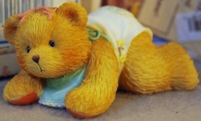 Cherished Teddies Betsey Baby Bear Crawling First Step To Love - Mib