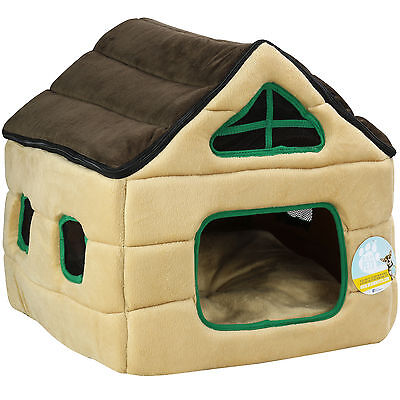 Me & My Pets House Bed For Dog/puppy Cat/kitten Snug/igloo Warm Enclosed Cave